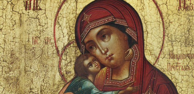 Feodorovskaya Mother of God, ca. 1850, egg tempera on wood