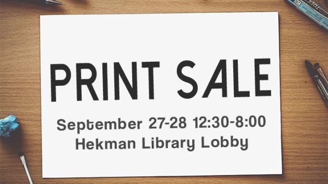 Print Sale Header